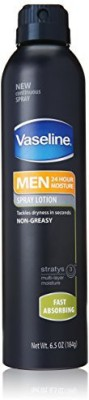 Vaseline Men Spray Lotion, Fast Absorbing