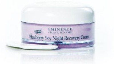 Eminence Organic Skincare Blueberry Soy Night Recovery Cream