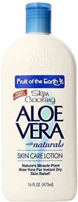 Fruit of the Earth Aloe Vera Skin Care Lotion (2 Pack) Triple Action Formula