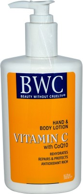 Beauty Without Cruelty Hand & Body Lotion, Vitamin C, With CoQ10