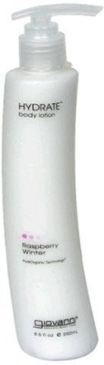 Giovanni Cosmetics, Inc. Giovanni Hydrate Body Lotion, Raspberry Winter, 8.5 ( ) (Pack of 2)