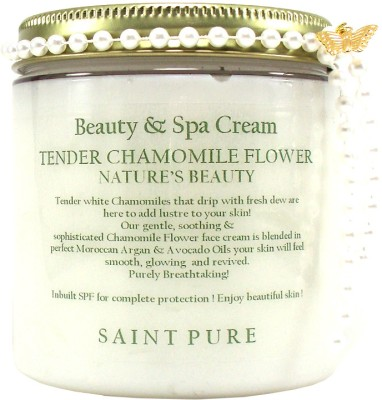 Saint Pure Chamomile Flower Nature's Beauty Cream
