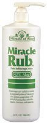 Miracle of Aloe Miracle Rub Pain Relieving Cream