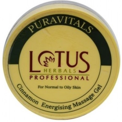 Lotus Puravitals Cinnamon Energising Massage Gel