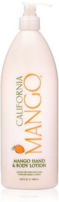 California Mango natural hand and body lotion, 33.8 ounce