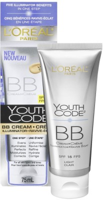 L,Oreal Paris Youth Code BB Cream Illuminator Board Spectrum Spf 15 Sunscreen