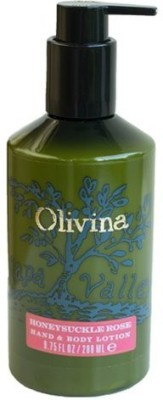 Olivina Hand & Body Lotion, Honeysuckle Rose
