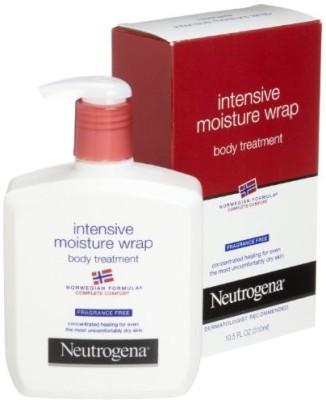 Neutrogena Norwegian Formula, Intense Moisture Wrap, Body Treatment, Fragrance Free, (Pack of 3)