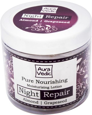 Auravedic Pure Nourishing Moisturizing Lotion with Almond Grapeseed