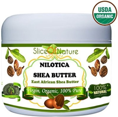 Slice Of Nature Shea Butter Organic USDA Certified Rare Nilotica East African Shea Butter