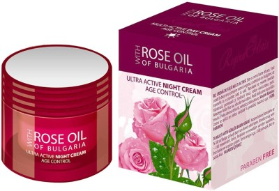 Bio Fresh Rose Oil of Bulgaria Night Cream with Ultra Active, Age Control