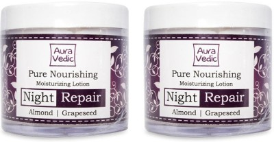 Auravedic Pure Nourishing Night Repair Cream (pack of 2)