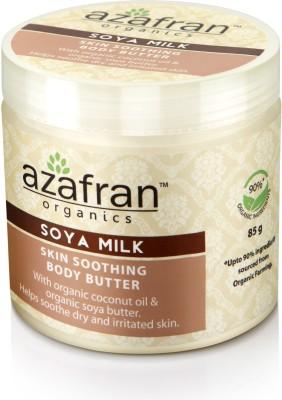 Azafran Organics Soya Milk Skin Soothing Body Butter