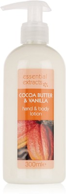 Essential Extracts M&S Cocoa Butter & Vanilla Hand & Body Lotion