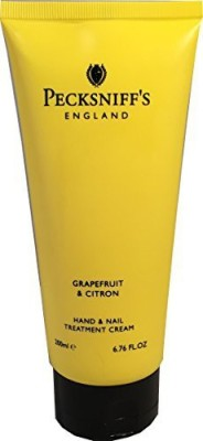 Pecksniffs Grapefruit & Citron Hand & Nail Treatment Cream Fl. From England