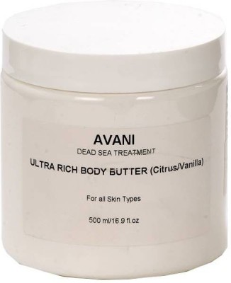 Avani Dead Sea Cosmetics Ultra Rich- Citrus / Vanilla