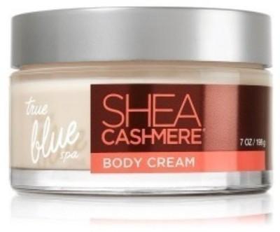 Bath & Body Works true blue spa shea cashmere body cream