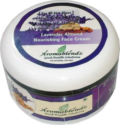 Aromablendz Lavender Almond Face Cream