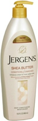 Jergens Shea Butter Conditions and Enriches Deep Conditioning Moisturizer 496ml(496 ml)