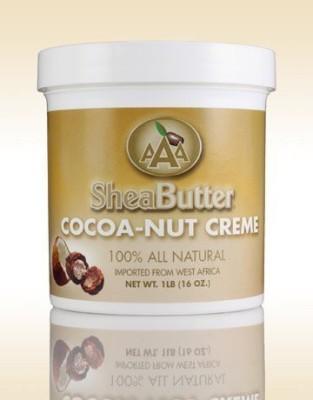 AAA Shea Butter cocoa-nut creme 16oz.