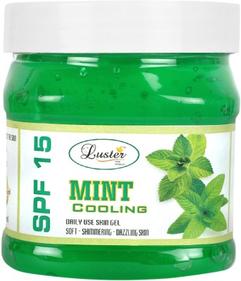Luster Mint Skin Massage Skin Gel