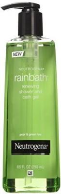Neutrogena Shower and Bath Gel, Renewing, Pear & Green Tea, fz (Pack of 3)