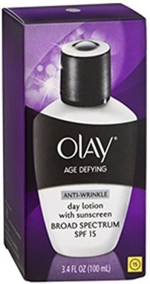 Procter & Gamble Olay Age Defying Anti-Wrinkle Day Lotion SPF 15