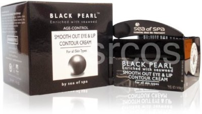 Sea of Spa Black Pearl - Smooth-out Eye and Lip Contour Cream,