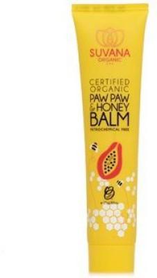 Suvana Beauty Certified Organic Paw Paw & Honey Balm by