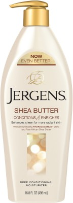 Jergens Shea Butter Conditions and Enriches Deep Conditioning Moisturizer Body Lotion