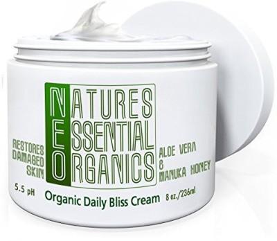 Natures Essential Organics Aloe Vera Gel Moisturizer for Face & Body
