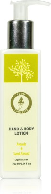 Vedic Concepts Hand & Body Lotion - Avocado & Sweet Almond