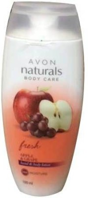 Avon Naturals Apple & Grape hand & Body lotion