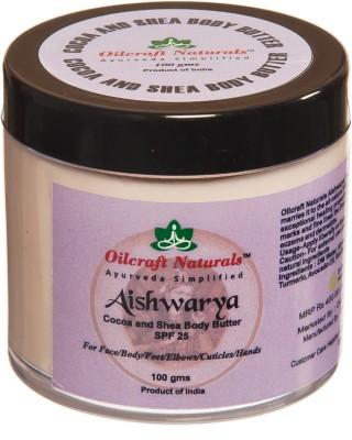 Oilcraft Naturals Cocoa & Shea Face & Body Butter SPF 25