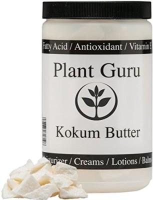 Plant Guru Kokum Butter Refined Raw 1 Lb ( ) (HDPE Food Grade Jar)