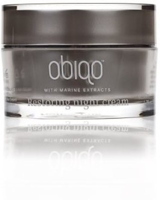 Obiqo Restoring Night Cream With Properties From Marine-sourced Collagen and Elastin