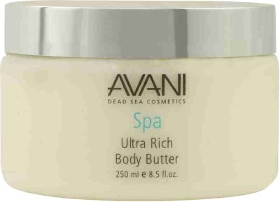 Avani Dead Sea Cosmetics - Ultra Rich Body Butter - Citrus & Vanilla