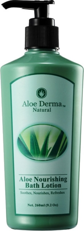Aloe Derma Aloe Nourishing Bath Lotion(260 ml)