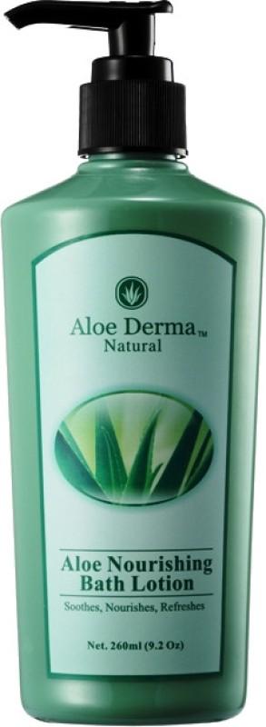 Aloe Derma Aloe Nourishing Bath Lotion(260 ml)