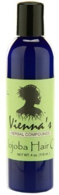 Vienna's Herbal Compounds jojoba hair oil - with enriching coconut and rose oils