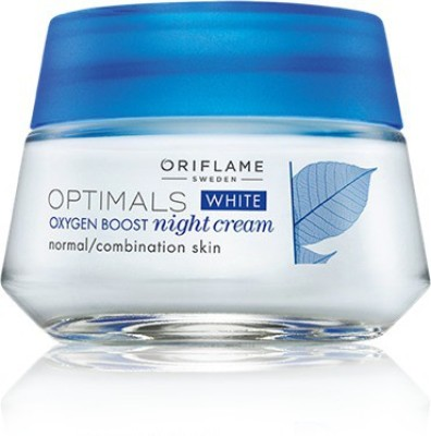 Oriflame Sweden Optimals White Oxygen Boost Night Cream Normal Combination Skin