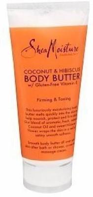 Shea Moisture Coconut & Hibiscus Body Butter with Gluten Free Vitamin E