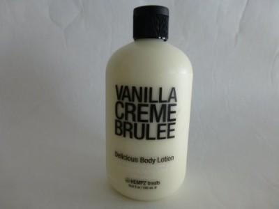 Hempz Treats Body Lotion, (Vanilla Creme Brulee)