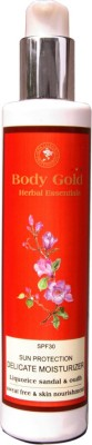Body Gold Luxurious Herbal Sun Protection Delicate Moisturizer
