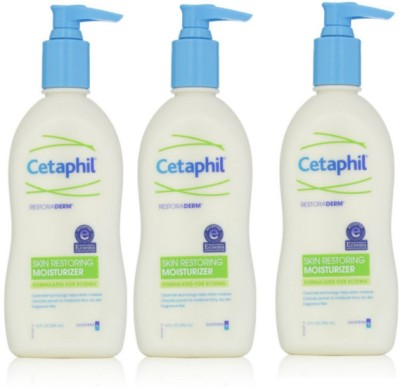 Cetaphil Restoraderm Skin Restoring Body Lotion (Pack of 3)