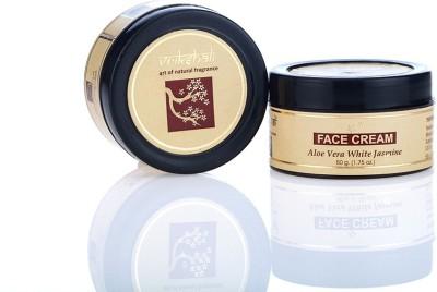 Vrikshali Face cream Aloevera White Jasmine