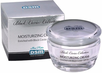 Dead Sea Minerals Moisturizing Cream Enriched with Black Caviar SPF-15