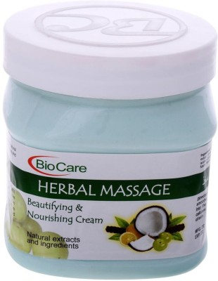 Biocare Herbal Massage Cream
