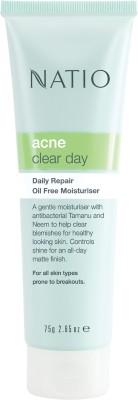 Natio Acne Clear Day Daily Repair Oil Free Moisturiser
