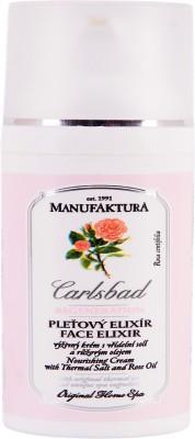 Manufaktura Romantic Rose Oil and Thermal Salt Nourishing Face Cream